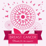 Symbol of Breast Cancer Awareness Royalty Free Stock Photo