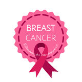 Symbol of breast cancer support Stock Photography