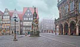 The symbol of Bremen Royalty Free Stock Photography