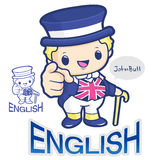 A Symbol of British John Bull Character Stock Photo