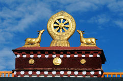Symbol of buddhism Royalty Free Stock Image