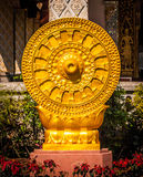 Symbol of Buddhism. Stock Photos