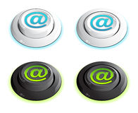 At symbol buttons Royalty Free Stock Photo