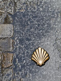 Symbol of the camino de santiago Royalty Free Stock Photos