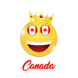 Symbol of Canada Stock Photography