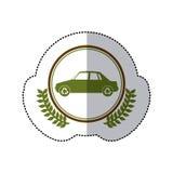 Symbol cars care environment image. Illustraion Stock Photo