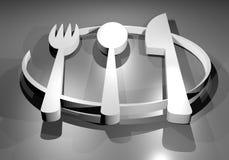 Symbol chef Stock Photos