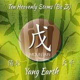 Symbol from chinese hieroglyphs. Royalty Free Stock Photos