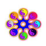 Symbol yin yang Royalty Free Stock Image