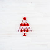 Symbol of christmas tree. Royalty Free Stock Photos