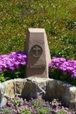 Symbol chrystianizm w parku pięć religii w Los Ange Zdjęcia Royalty Free