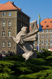 The symbol of the city of Szczecin, Griffin Royalty Free Stock Images