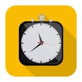 Symbol clock icon image. Illustration design Stock Photos