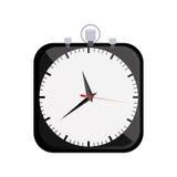Symbol clock icon image. Illustration design Royalty Free Stock Photos