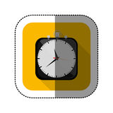 Symbol clock icon image. Illustration design Royalty Free Stock Photography