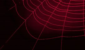Symbol cobweb Royalty Free Stock Photography