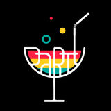 Symbol Cocktail Party Stock Images