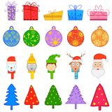 Symbol of colourful Christmas Royalty Free Stock Images