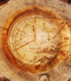 Symbol of coming to the end life. Symbol of coming to the end time-life Stock Image