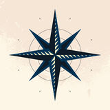 Symbol of compass. Vector illustration Royalty Free Stock Images