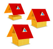 Symbol completion of the construction Stock Photo
