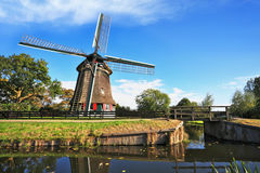 The symbol of the country - Windmills Stock Photos