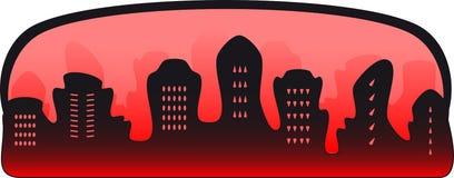 Symbol of crime city Stock Image