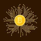 Symbol cryptocurrency Zdjęcia Stock