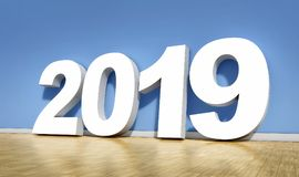 2019 symbol Stock Photography