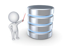 Symbol of database Stock Photography