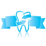 Symbol dentistry Royalty Free Stock Photo