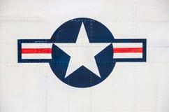 Symbol der amerikanischen Luftwaffe Stockfotografie