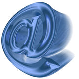 Symbol der eMail 3D Lizenzfreies Stockfoto