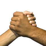 Symbol der Freundschaft und des Friedens Stockfotos