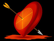 Symbol der Liebe Stockbilder