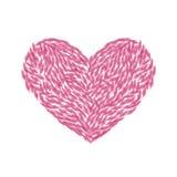 Symbol der Liebe und der Neigung Lizenzfreie Stockfotografie