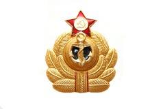 Symbol der sowjetischen Marineseeflotte Lizenzfreie Stockfotos