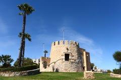 Symbol der Stadt Torrevieja - der alte Turm spanien Lizenzfreie Stockfotografie