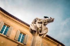 Symbol der Stadt von Siena toskana stockfotos