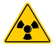 Symbol der Strahlung Lizenzfreies Stockbild