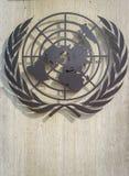 Symbol der Vereinten Nationen Stockbilder