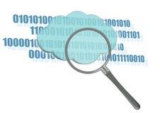 Symbol der Wolkendatenverarbeitung Lizenzfreie Stockbilder