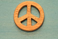 Symbol des Friedens Lizenzfreies Stockbild