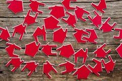 Symbol des Hauses Lizenzfreie Stockbilder
