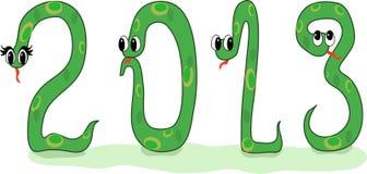 Symbol des Jahres lizenzfreie abbildung