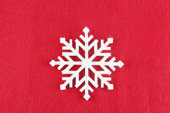 Symbol des neuen Jahres; Schneeflocke stockfoto