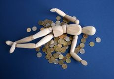 Symbol des Reichtumes. Stockbilder