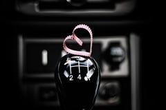 Symbol des roten Herzens der Liebe und der Treue formen als Geschenk für Valentine Day Lizenzfreie Stockfotografie