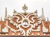 Symbol des russischen Reiches Stockbild