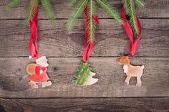 Symbol des Weihnachten drei Lizenzfreies Stockfoto